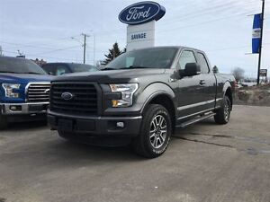 2015 Ford F-150 XLT  302 PACKAGE SPRAY IN BOX LINER.