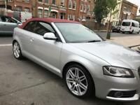2008 AUDI A3 S LINE CONVERTIBLE 2.0 ( 200BHP) AUTOMATIC