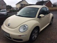 Volkswagen Beetle 1.6 luna,new mot,timing belt,fsh.