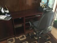 Computer desk and chair. Great condition both only £50