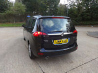 Vauxhall Zafira Tourer Exclusiv CDTi Auto Diesel 0% FINANCE AVAILABLE