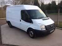 *2012*FORD TRANSIT MWB 2.2 TDCI 100 BHP* ONE OWNER* FULL SERVICE HISTORY* NO VAT*