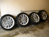 207 Wheels and Tyres for BMW 1 Series.
