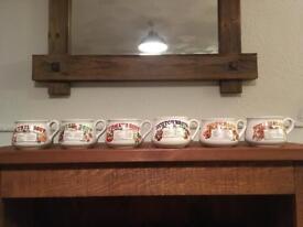 Retro Soup Bowls (set of 6)