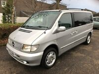 Mercedes V220 Ambiente, 2.2 diesel, auto, 7 seater, people carrier