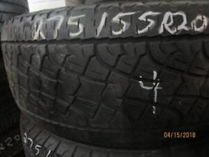 275/55R20 SET OF 6 MATCHING USED PIRELLI A/S TIRES