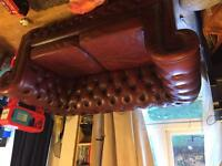 Chesterfield Deep Buttoned Two Seater Sofa