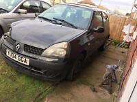 Clio spares or repair non recorded