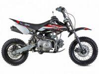 STOMP JUICEBOX 110 PIT BIKE, NEW, FINANCE AVAILABLE, KIDS MOTORBIKE