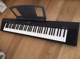Yamaha Np-30 Portable Grand Digital Keyboard, Stereo sampled piano, Slim, Light, Compact Design