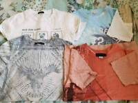 River island t shirts age 7 to 8
