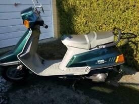 Yamaha moped xc 125 beluga