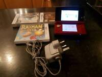 Nintendo 3ds 3 games charger and deck