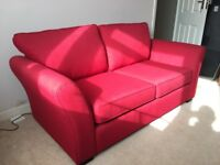 REDUCED FOR QUICK SALE quality sofa bed, excellent condition and hardly used
