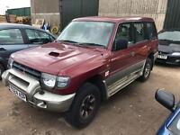 Mitsubishi shogun 2.8 turbo diesel spares or repairs