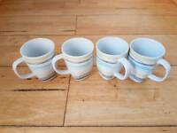 Set of Four Mugs Ikea 365+