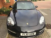 PORSCHE BOXSTER 2.9 PDK, Automatic, Convertible, 44 800 miles. BLACK, Basalt leather full service