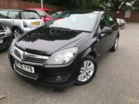 2010 vauxhall astra 1.4 petrol sxi - one year mot - warranted miles - clean body /interior