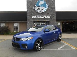 2011 Kia Forte Koup LEATHER!  FINANCING AVAILABLE!