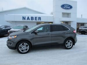 2015 Ford Edge Titanium AWD FULLY ONE OWNER PST PAID