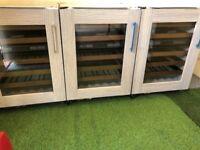 Ex Display Sub zero wine cooler x3 Fridge Chiller Subzero wolf appliance INC VAT