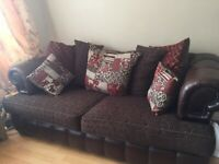 Scs 2 and3seater sofa