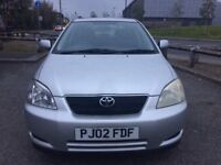 Toyota Corolla 1.6 VVT-i T Spirit - Low Mileage - 9 Service Stamps - 1 Owner Car - Top Spec - £1150