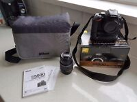 Nikon D5500 Camera 18-55 Lens BUNDLE