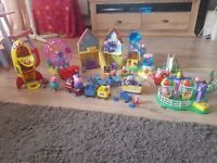 HUGE peppa pig toy selection