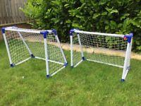 Pair of Kids Mini Football Goals