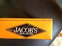 jacobs cracker tin vintage