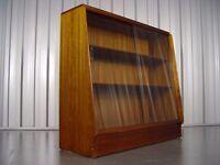 Retro Display Cabinet Vintage G-Plan Bookcase Furniture X