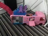 Barbie camper van £50