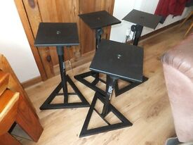Four Gorrila Studio Speaker Stands
