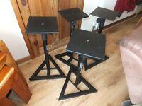 Four Gorrila Studio Speaker Stands