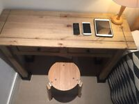 Room table and MADE stool