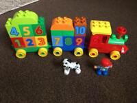 Duplo Lego 123 train