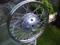 BSA / Ariel Rebuilt Wheel,