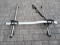 Ford Kuga Roof Cross Bars and Thule Bike Carrier