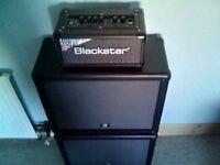 Blackstar id core 40 watt stereo amplifier and cabinets