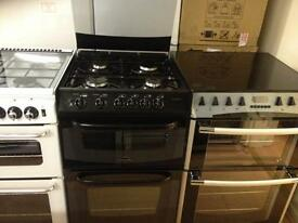 Black cannon gas cooker (Duel fuel)
