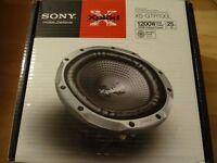 """Sony Xplod 1200W 12"""" Subwoofer Brand New - 2 Available"""
