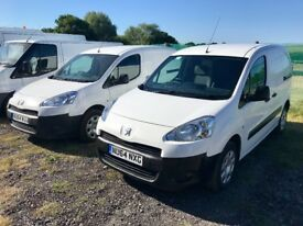 PEUGEOT PARTNER 1.6 HDI DIESEL 2014 64-REG *CHOICE OF 2* FULL SERVICE HISTORY DRIVES EXCELLENT