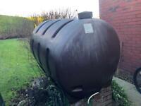 H300gallon/1300litre Brown Oil Tank