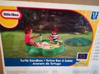 Little Tikes Turtle Sandbox - brand new