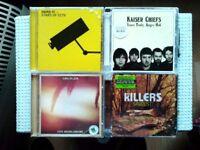 6 Music CDs for sale : The Feeling - Razorlight - HardFi - Kaiser Chiefs - Kings of Leon
