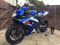 Suzuki gsxr 750 k6, lovely eye catching bike with many upgrades