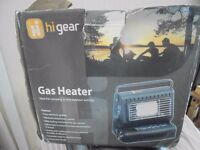 Hi Gear Gas heater used just once in brilliant condition