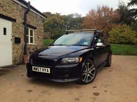 Black Volvo C30 T5 - Excellent Performance Vehicle with 12 Months MOT and 6 Months Tax.