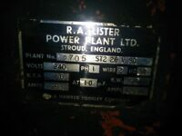 Lister ST2 7KW spares or repairs